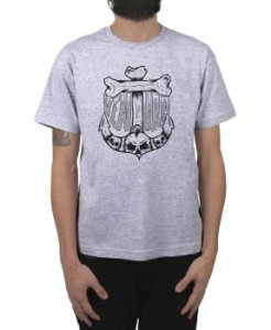 Camiseta Ventura Anchor Bones Cinza Mescla