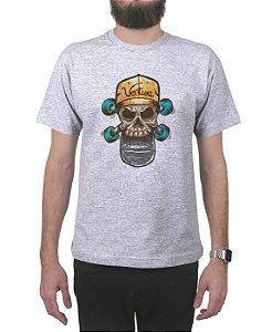 Camiseta Ventura Trucker Cinza Mescla
