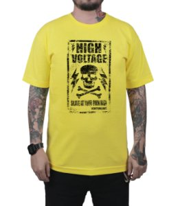 Camiseta Ventura High Voltage Amarela