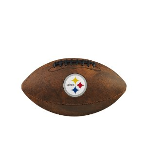 Bola de Futebol Americano NFL Throwback Pittsburgh Steelers