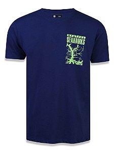 Camiseta NFL Seattle Seahawks Marinho
