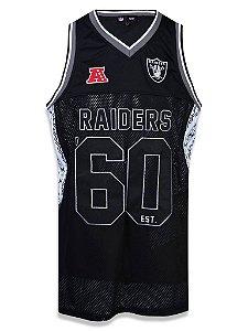 Regata Jersey NFL Oakland Raiders Preto