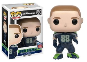 Funko POP! NFL - Jimmy Graham #50 - Seattle Seahawks