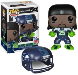 Funko POP! NFL - Richard Sherman #02- Seattle Seahawks