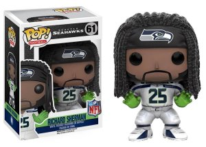 Funko POP! NFL - Richard Sherman #61- Seattle Seahawks