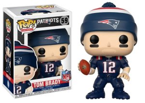 Funko POP! NFL - Tom Brady #59 - Blue - New England Patriots
