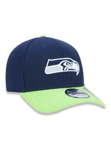 Boné 940 New Era NFL Seattle Seahawks Marinho