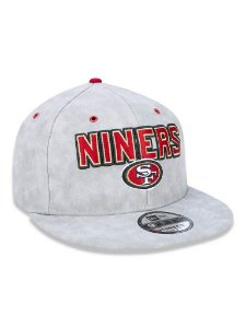 Boné 950 New Era NFL San Francisco 49Ers Cinza
