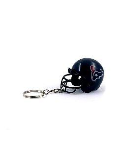 Chaveiro Capacete NFL - Houston Texans