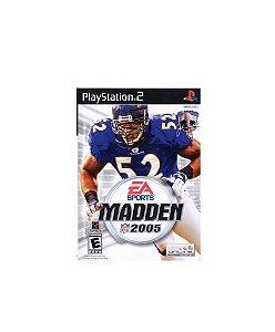 Jogo Madden NFL 2005 - Playstation 2 - PS2