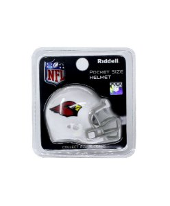 Mini Capacete de Bolso Riddell Arizona Cardinals