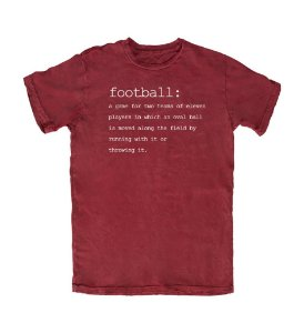 Camiseta PROGear Dictionary: Football