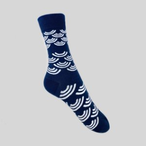 Meia Really Socks Blue Wave