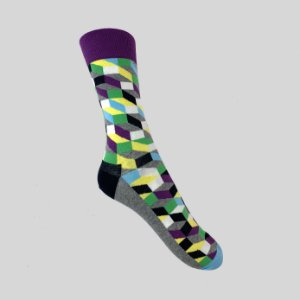 Meia Really Socks Classic Mescla