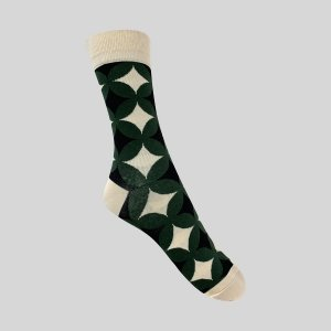 Meia Really Socks Shapes Verde