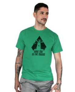 Camiseta Bleed American To The Moon Verde