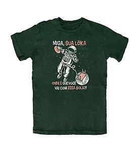 Camiseta Everaldo Marques Miga Sua Lôka Musgo