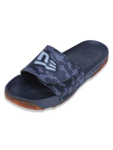 Chinelo New Era Slide Militar Chumbo