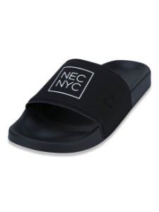 Chinelo New Era Slip-on NYC Preto