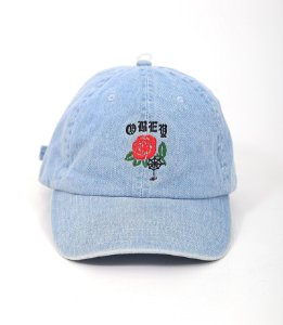 Six Panel Obey Spider Rose
