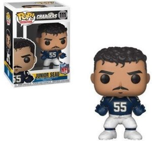 Funko POP! NFL - Junior Seau #111 - Los Angeles Charges