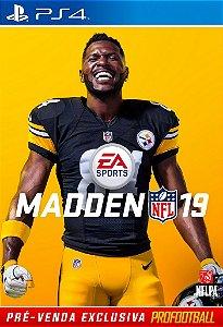 Madden NFL 19 - PS4 com FRETE GRÁTIS