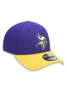 Boné 940 New Era NFL Minnesota Vikings Roxo