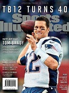 Revista Edição Especial - Sports Illustrated Tom Brady Turns 40