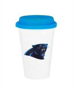 Copo de Café NFL - Carolina Panthers