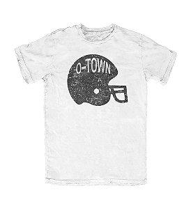 Camiseta PROGear Oakland Raiders Helmet O-Town