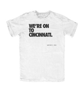 Camiseta PROGear New England We're On To Cincinnati