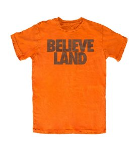 Camiseta PROGear Cleveland Browns Believe Land