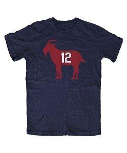 Camiseta PROGear New England GOAT #12