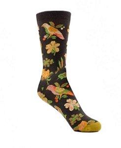 Meia Really Socks Nature Flowers