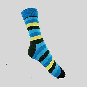 Meia Really Socks Stripes Verde