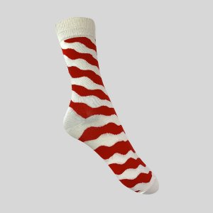 Meia Really Socks Zig Stripe Waves