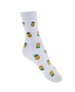 Meia Really Socks Food Mini Pinapple