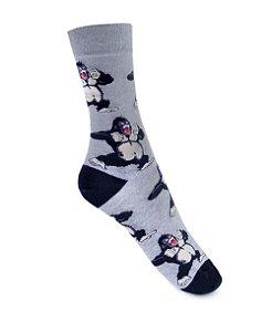 Meia Really Socks Animals  Gorilla