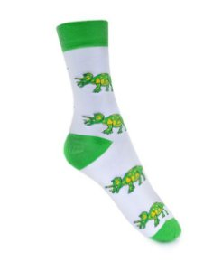 Meia Really Socks Dino Triceratops
