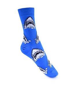 Meia Really Socks Animals  Big Shark