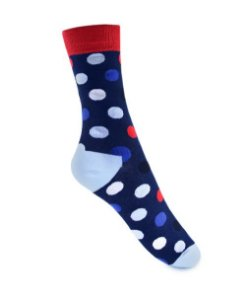Meia Really Socks Big Dot Marinho