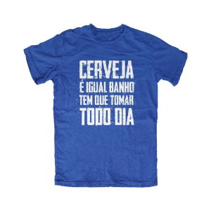 Camiseta Tomar Todo Dia