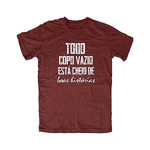 Camiseta Copo Vazio
