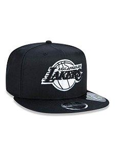 Boné New Era 950 NBA Hc Ne Blk Rloslak Blkblkwhi