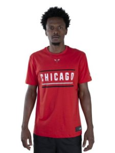 Camiseta NBA New Era Chicago Bulls Color Stripe City