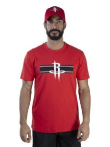 Camiseta NBA New Era Houston Rockets Essentials Sp Stripe