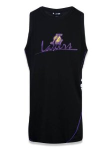 Regata New Era NBA Los Angeles Lakers Piping V Cut