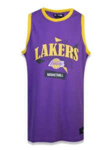 Regata New Era NBA Los Angeles Lakers Sport Basketball