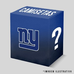 Kit - 3 Camisetas New York Giants