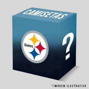 Kit - 3 Camisetas Pittsburgh Steelers
